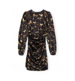 Ganni Silk Stretch Kleid